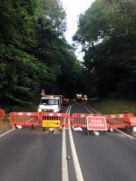 Tree Surgery Road Closure Traffic Control